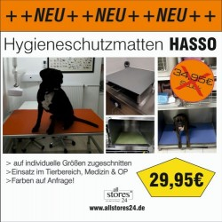 Hygieneschutzmatte Hasso
